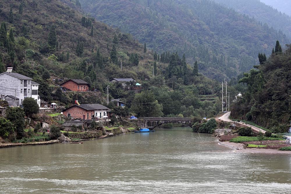 Yangtze rivier in China