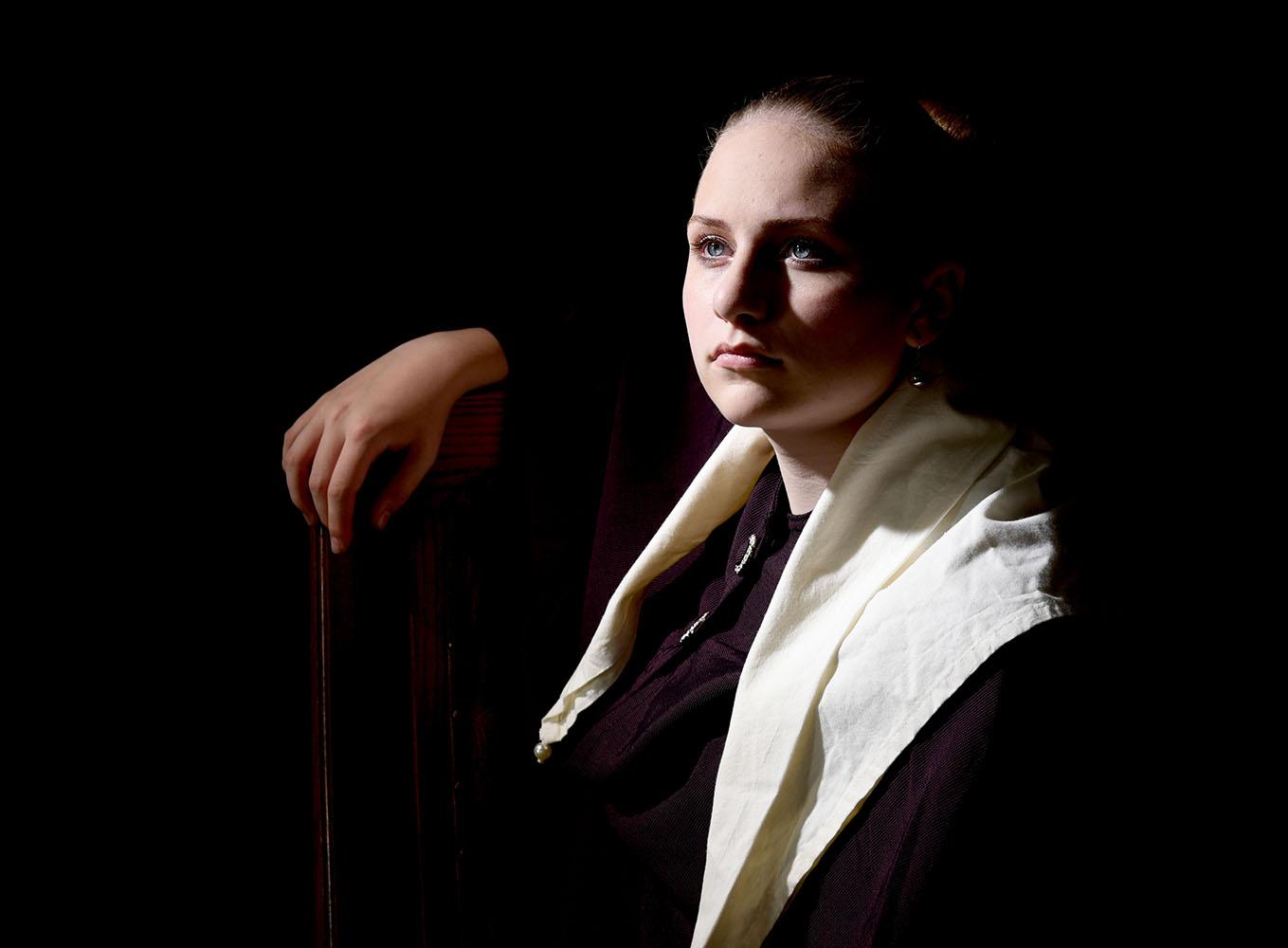 Model Bonnie Tieleman